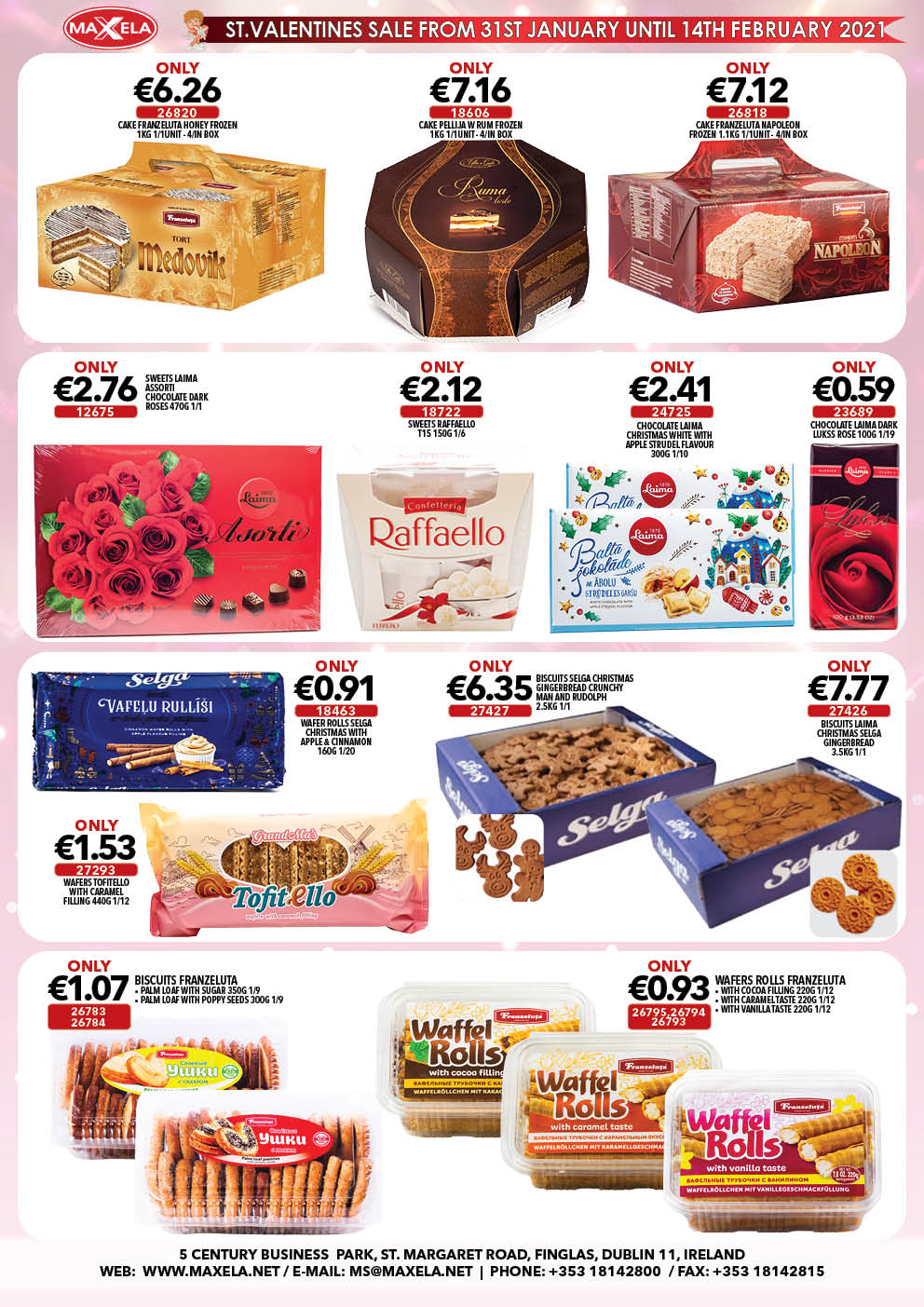 Maxela St.Valentines Sale 2021